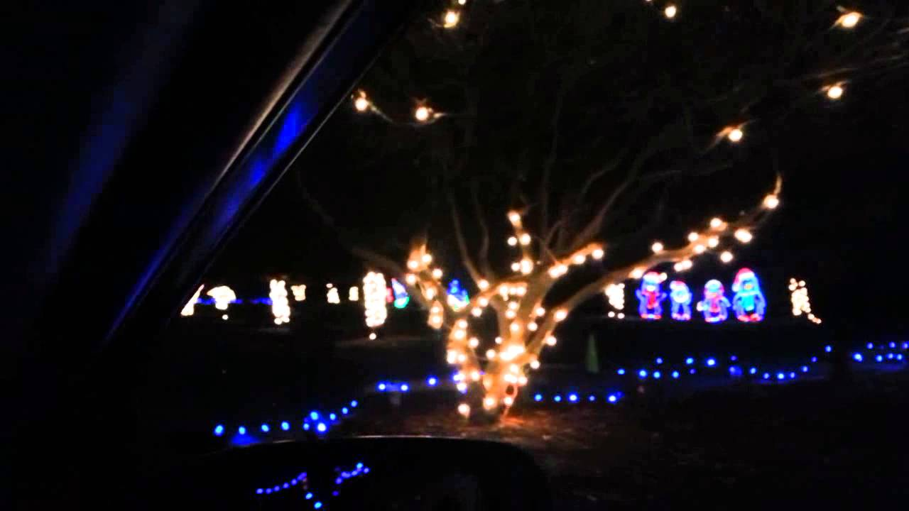 Fantasy Of Lights in Vasona Park (17min HD drive through video ...