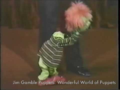 Scenes from Wonderful World of Puppets - Jim Gamble Puppet Productions