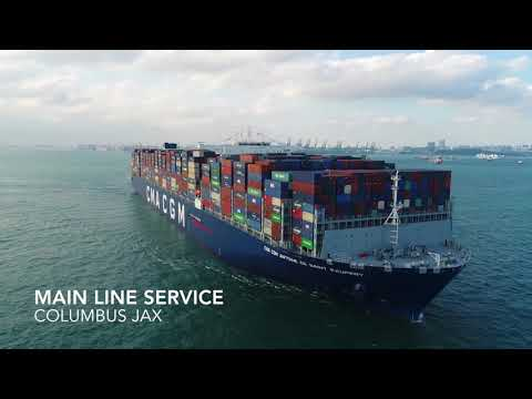 CMA CGM - Connecting New England and Asia