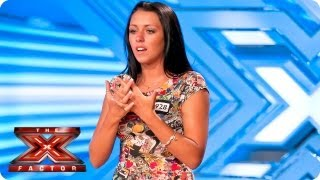 Stephanie Woods sings Run by Snow Patrol - Room Auditions Week 3 - The X Factor 2013