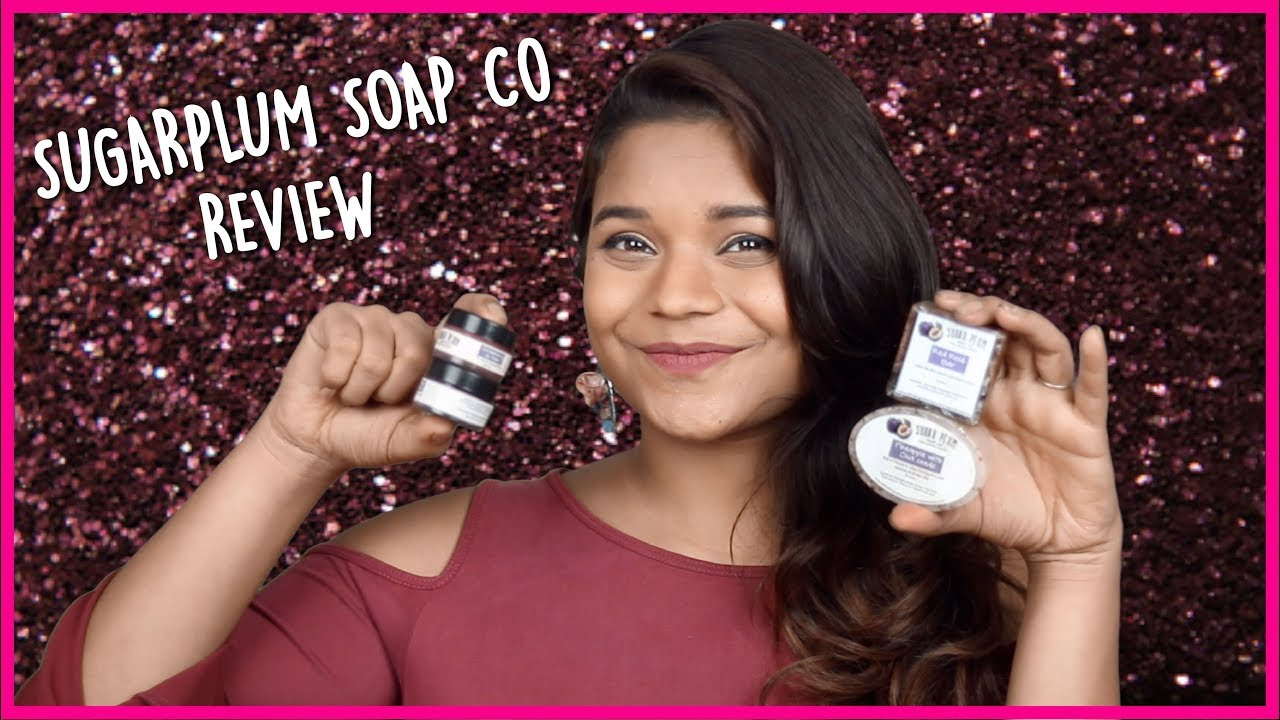 Sugarplum Soap Co Review | Best Handmade Soaps & LipBalms || Miss Pink Shoes