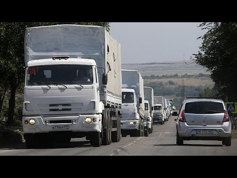 "Russian aid convoy is ""direct invasion"" says Ukraine"