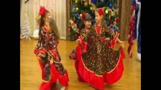 """Новый год Цыганский танец (под. гр.) детский сад 15 """"Светлячок"""" Коломна"""