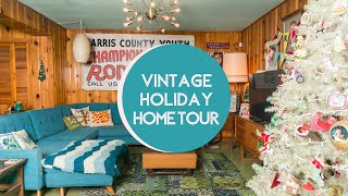 A Vintage Holiday Home - Andee Cooper's Holiday Home Tour