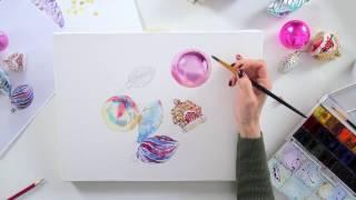 Обзор видео мастер-класса  «Елочные игрушки»