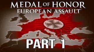 Medal of Honor European Assault Gameplay Walkthrough Part 1 - St. Nazaire