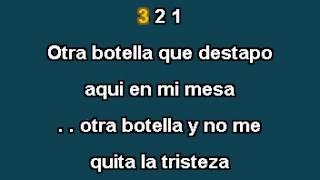 Vaciando Botellas - Fidel Rueda - karaoke - demo
