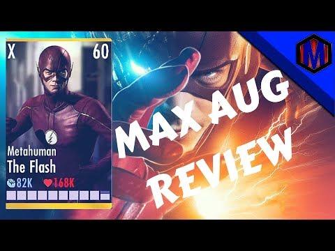 injustice / MAX AUG METAHUMAN FLASH