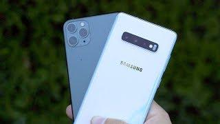 iPhone 11 PRO Max vs Samsung Galaxy S10+
