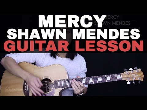 Mercy Guitar Tutorial Shawn Mendes Guitar Lesson |Easy Chords + Guitar Cover|