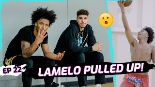 "LaMelo Ball Pulls Up To Mikey Williams' BIG GAME! Mikey Opens Up On San Diego! ""I Miss Being Home"""