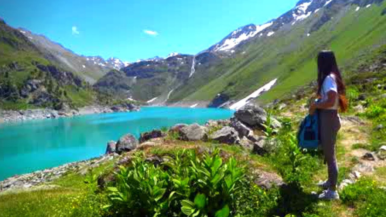 Walk with us in the Swiss Alps - Beautiful Summer Day ...