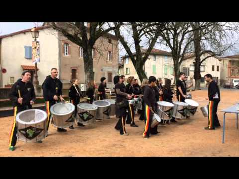 SAMBASTONE Carnaval d'ALBI 2016 & LESCURE D'ALBIGEOIS