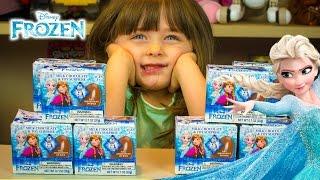 Disney Frozen Chocolate Surprise Eggs Kinder Playtime Easter Egg Elsa Anna Kristoff Sven Olaf