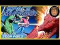 Space Harrier Sega Saturn menu cd audio