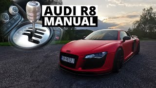 """Audi R8 """"w manualu i quattro"""" - zabawka, która Cię nie zabije"""