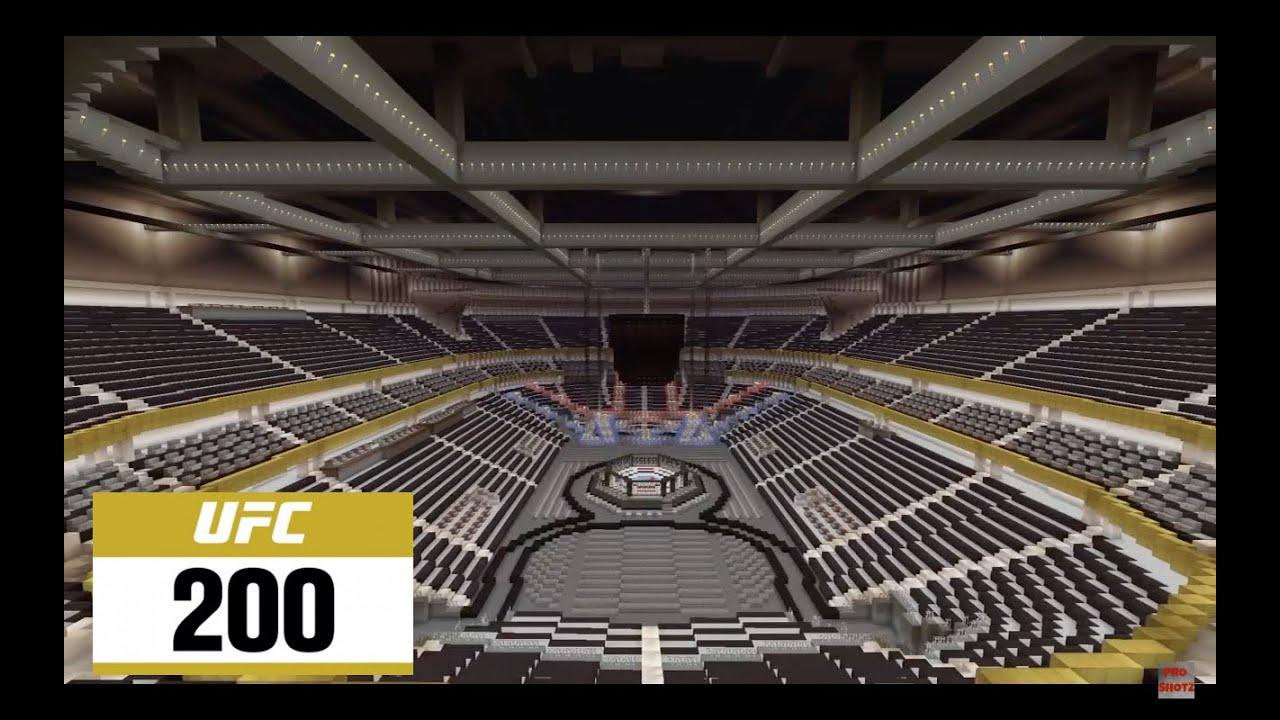 Minecraft Ufc 200 Arena 2016 T Mobile Arena