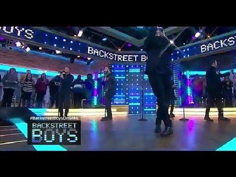 Backstreet Boys 'I Want It That Way' LIVE On GMA