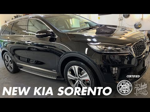 2019 KIA SORENTO NEW CAR DETAIL PYRAMID CAR CARE CERAMIC COATING