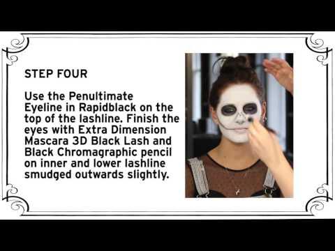 Halloween how it to..Sandra Bullock's Scary Sugar Skull