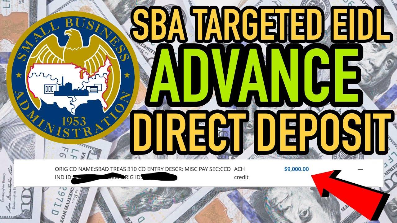 🌟SBA Targeted EIDL Advance Direct Deposit • Full $10,000 Grant FUNDED 💰