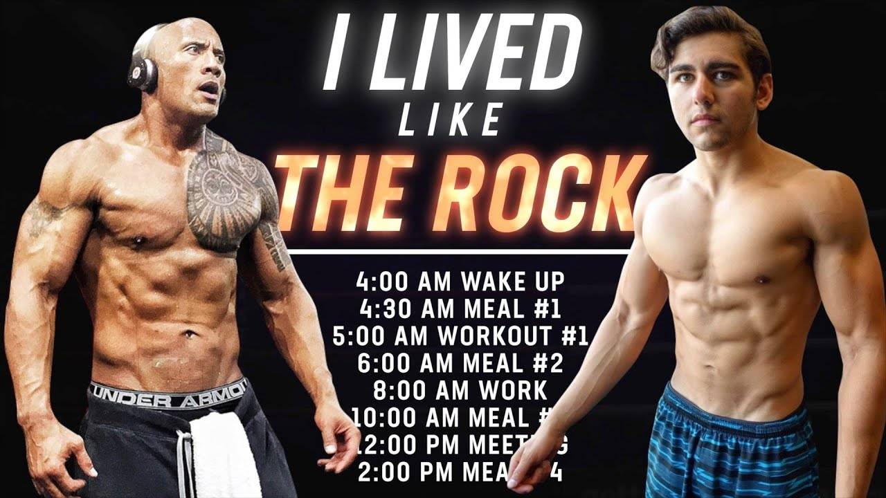 """I Lived Like Dwayne """"THE ROCK"""" Johnson For A Day"""