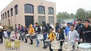 Texas Southern Power Day Drummers ( Practicing ) 2019