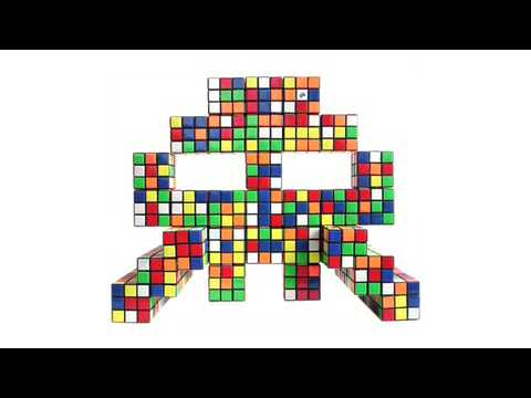 INVADER- Rubix Cubism- Indoor- Part 2