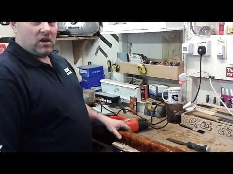 how to strip bentley door cappings part 1