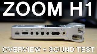 zoom h1 overview sound test silver edition ver 2 0