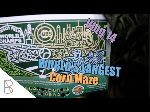 World's Largest Corn Maze! | Vlog 14