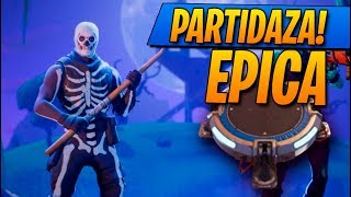 La PARTIDAZA que TODOS visteis!! Fortnite: Battle Royale