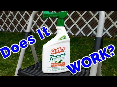 Cutter Natural Bug Control Spray Concentrate