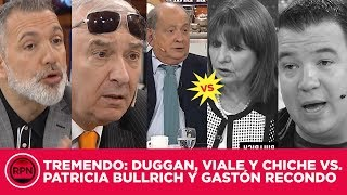 Recondo quiso defender a Pato Bullrich, pero Mauro, Chiche y Pablo Duggan LA DESCUARTIZARON