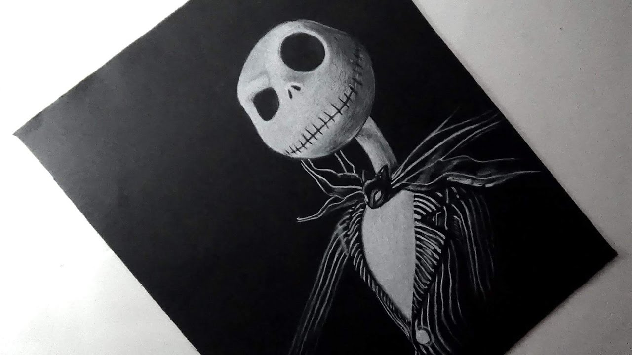 Cómo dibujo a Jack Skellington (The Nightmare Before) | PatrickART ...