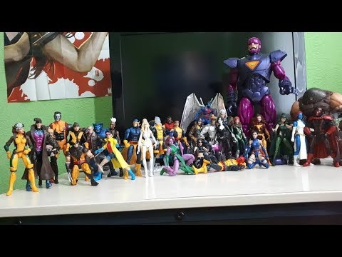 My Marvel Legends X-Men Collection Overview & Display