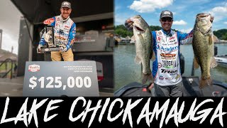 I catch my BIGGEST BASS ever in a tourney + Win $125k on my HOME LAKE