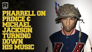Pharrell On How Prince & Michael Jackson Both Turned Down His Music. Peep What Songs!