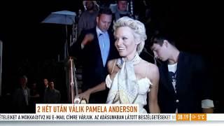 Nem bírta a házaséletet? Két hét után válik Pamela Anderson
