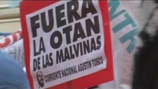Falklands fued still raw in Buenos Aires
