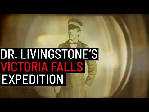 Dr. Livingstone Discovers & Names Victoria Falls