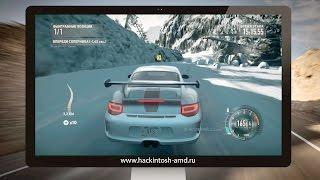Gameplay Need for Speed: The Run на Windows 7 через Parallels Desktop 11 в OS X El Capitan 10.11.4