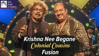 Video Hariharan | Lesle Lewis | Krishna Nee Begane By Colonial Cousins | Idea Jalsa | Art and Artistes download MP3, 3GP, MP4, WEBM, AVI, FLV Agustus 2018