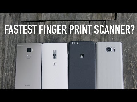 Fastest Finger Print Scanner? (iPhone 6s vs Note 5 vs One Plus 2 vs Mate S)