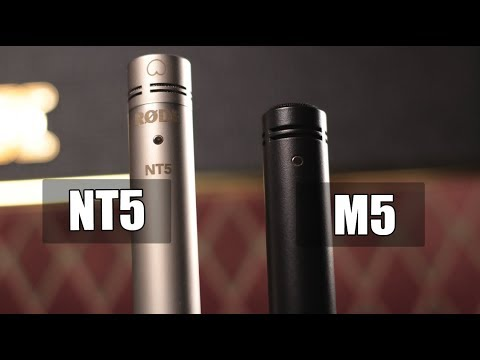 Rode NT5 vs Rode M5 (electric guitar) (pt.1)