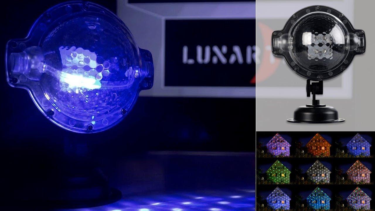 Projecteur Effet Chute De Neige Noël Hiver Pearltvfr