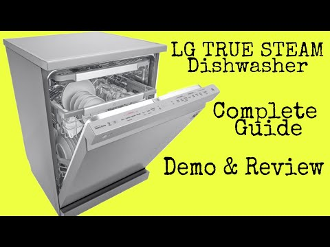 lg-true-steam-dishwasher-demo-&-review-#diywithrj-#dishwasher-#productreviews