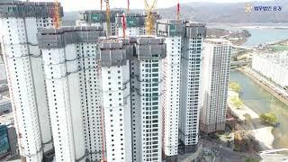 춘천센트럴 타워 푸르지오 항공(드론)영상