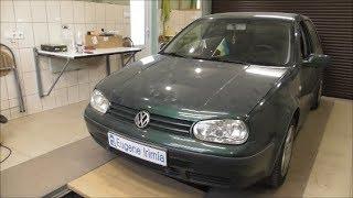 Volkswagen Golf 4 2000 1.6 - Продолжение