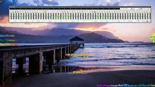 เข่าอ่อน - แต้ ศิลา - eXtreme karaoke V3 คาราโอเกะ 4K 21:9